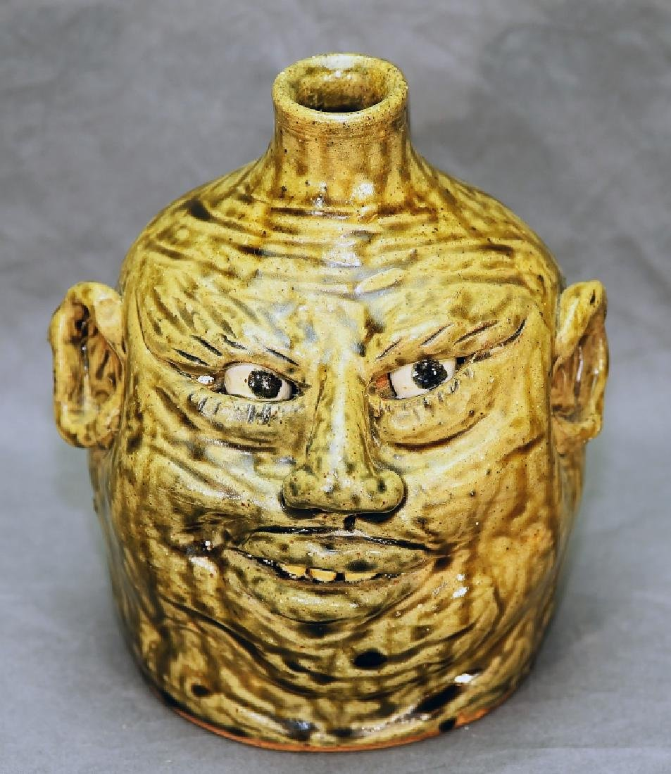 Nan Dean Ugly Grotesque Face Jug