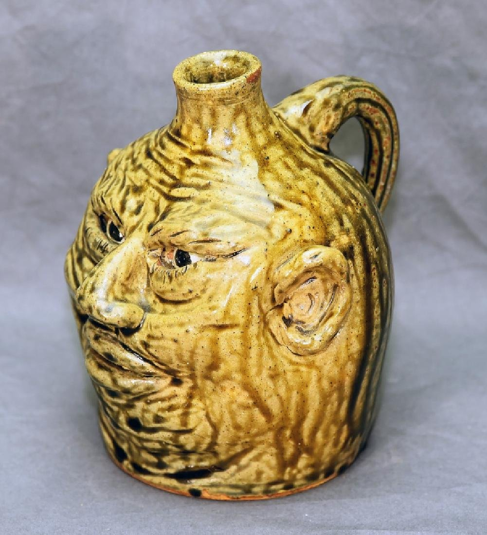 Nan Dean Ugly Grotesque Face Jug - 2