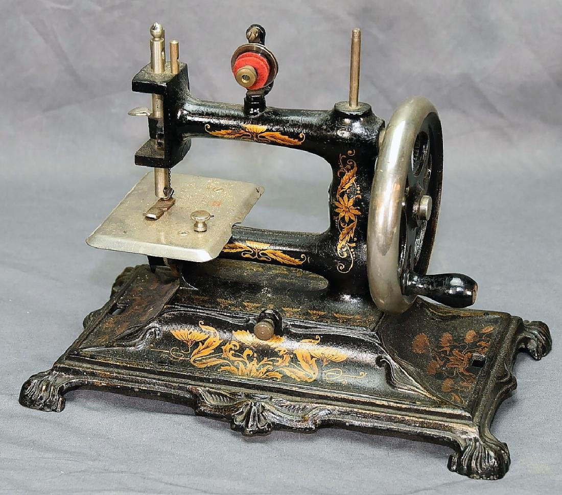 German Miniature Crank Sewing Machine