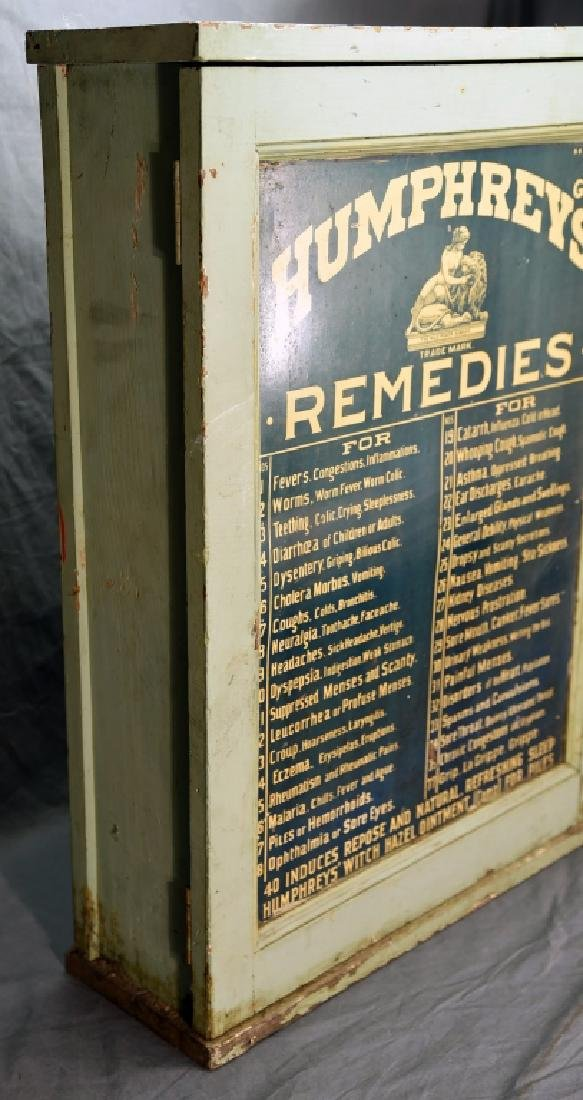 Humphreys' Remedies Cabinet with New Old Stock - 2