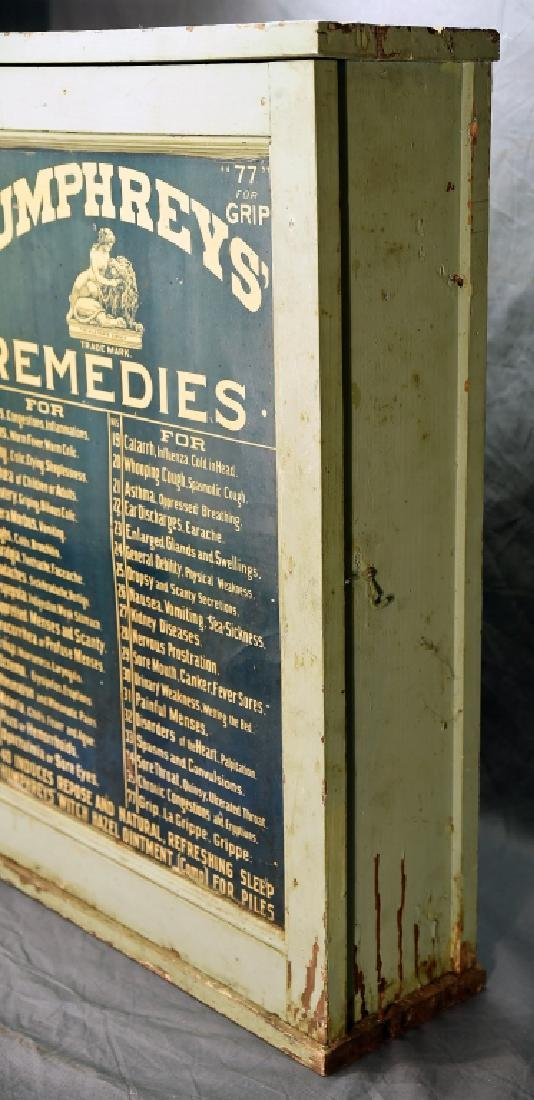Humphreys' Remedies Cabinet with New Old Stock - 3