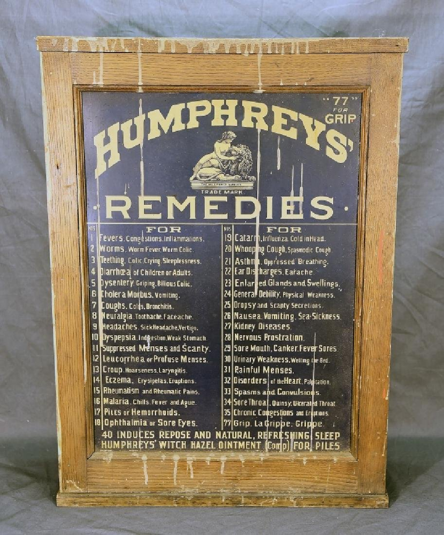 Humphreys' Remedies Cabinet with New Old Stock - 4
