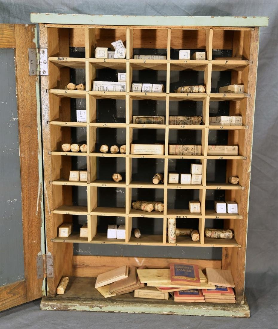 Humphreys' Remedies Cabinet with New Old Stock - 5