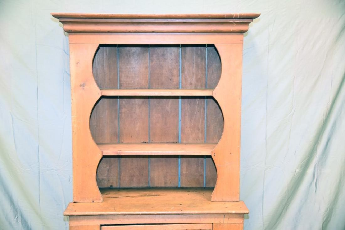 Stepback 1 Door Pine  Cupboard - 2