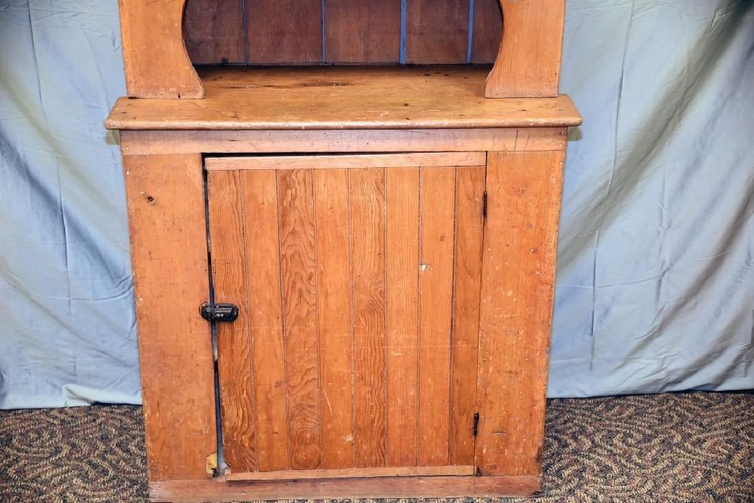 Stepback 1 Door Pine  Cupboard - 3