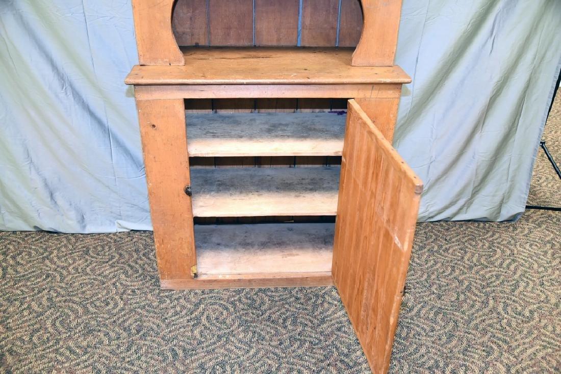 Stepback 1 Door Pine  Cupboard - 6