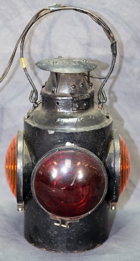 H. L. P. M. Railroad Signal Lantern