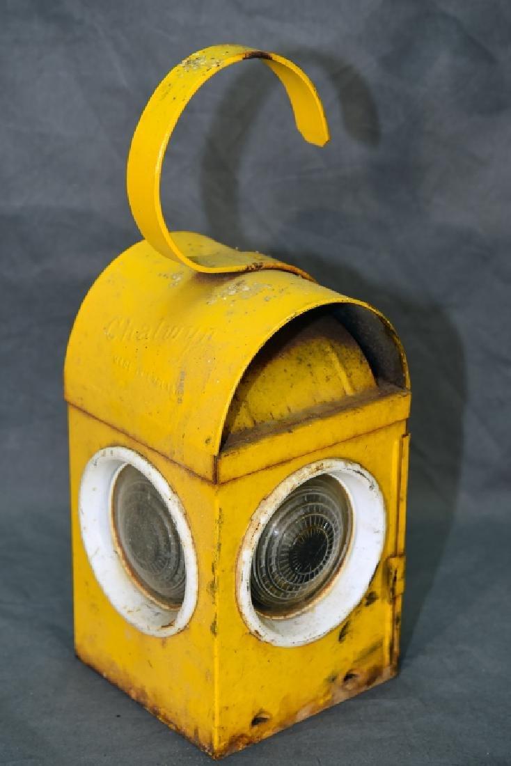 Chalwyn Railroad Lantern Made In England - 4
