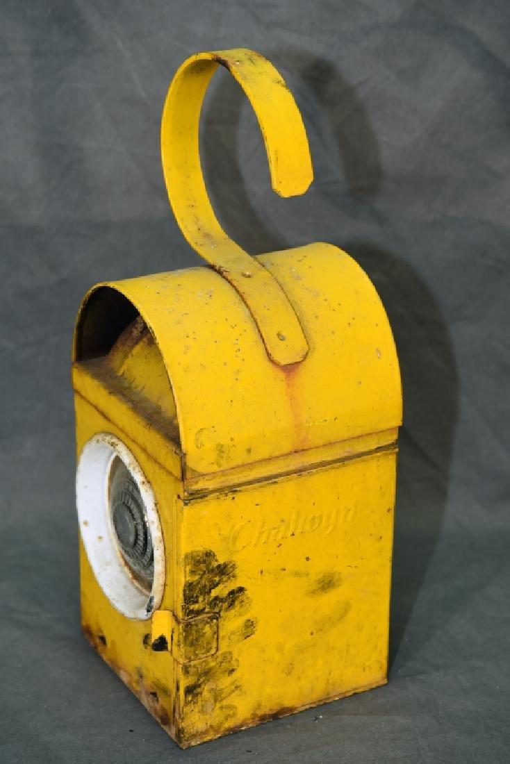 Chalwyn Railroad Lantern Made In England - 5