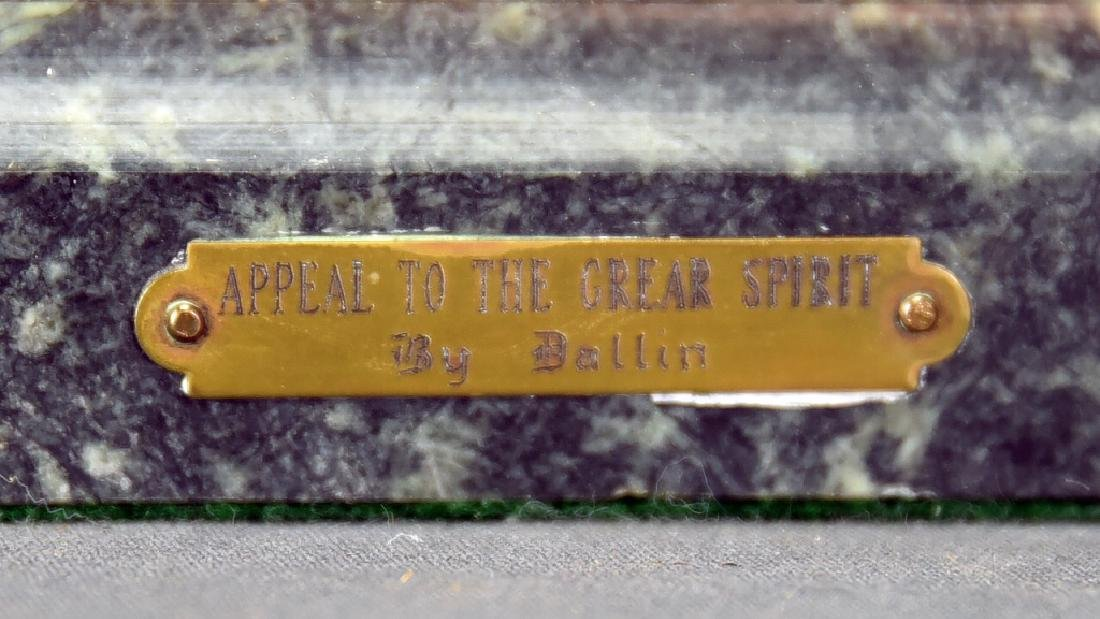 """C.E. Dallin """"Appeal To The Great Spirit"""" Bronze - 5"""
