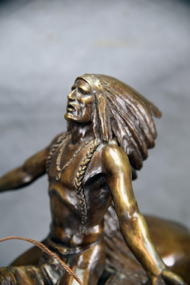 """C.E. Dallin """"Appeal To The Great Spirit"""" Bronze - 6"""