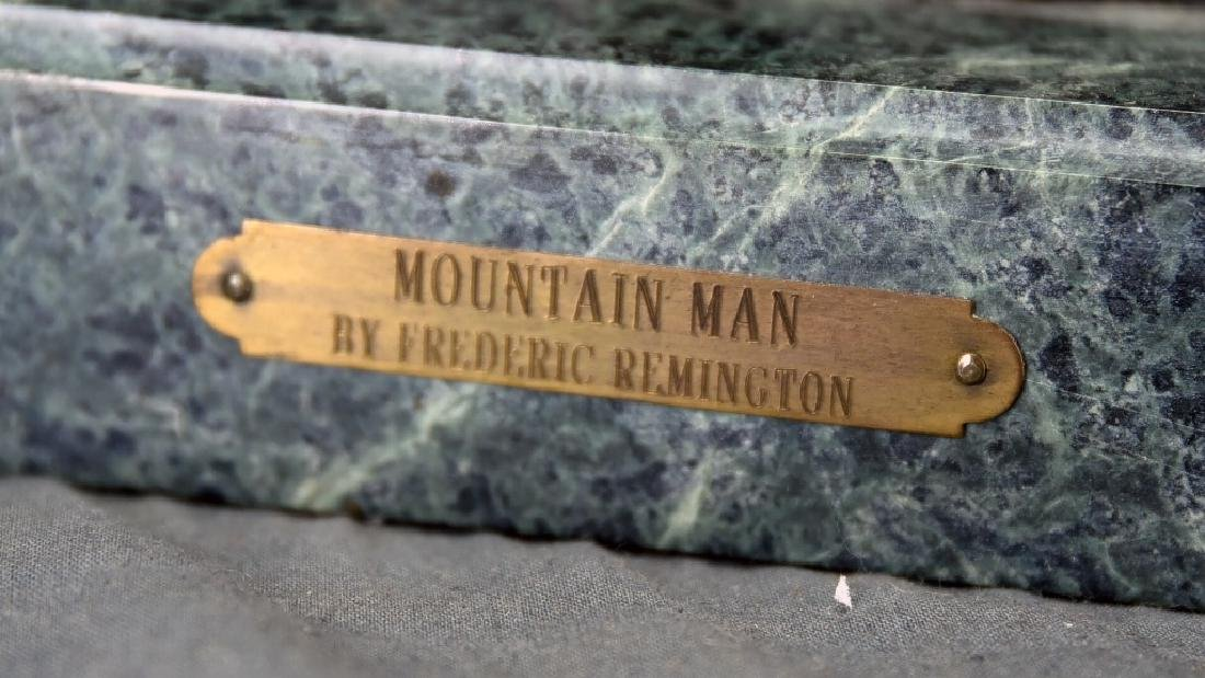 "Frederick Remington ""The Mountain Man"" Bronze - 3"