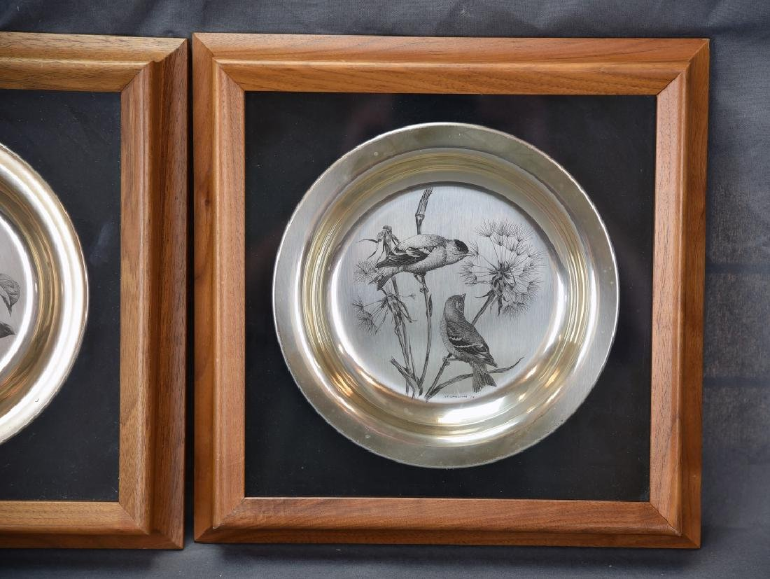 National Audobon Society Sterling Songbird Plates - 2