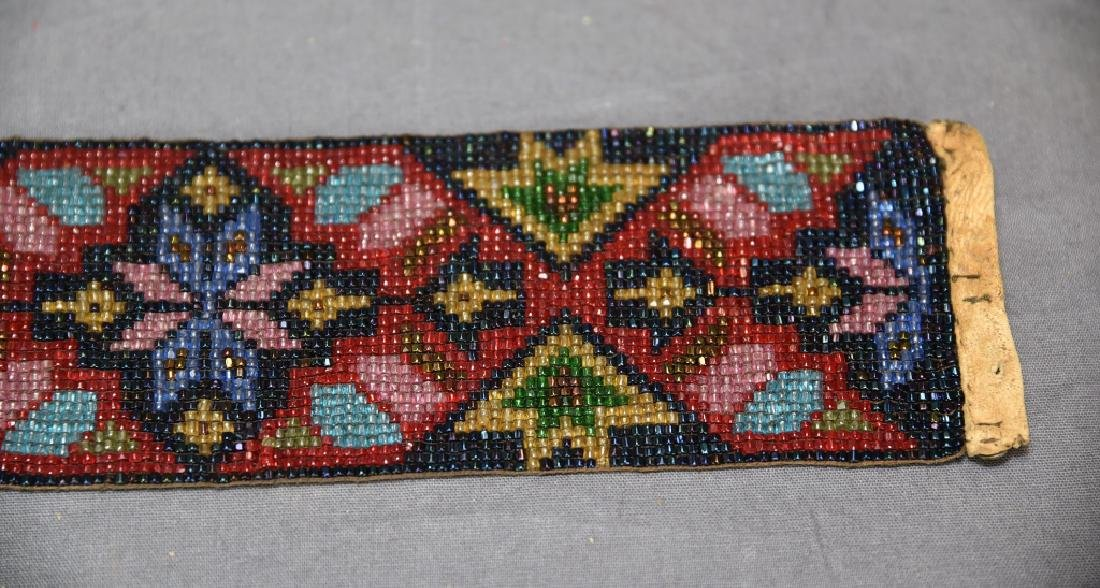 Circa 1920s Fully Beaded Ojibwe Belt - 3