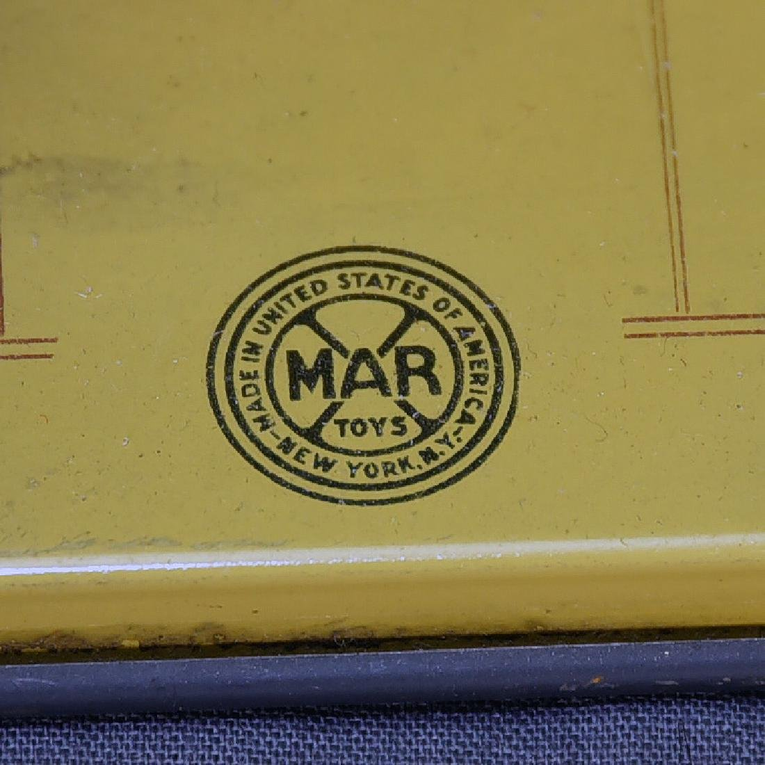 Marx Grand Central Station Tin Public Cab Stand - 4