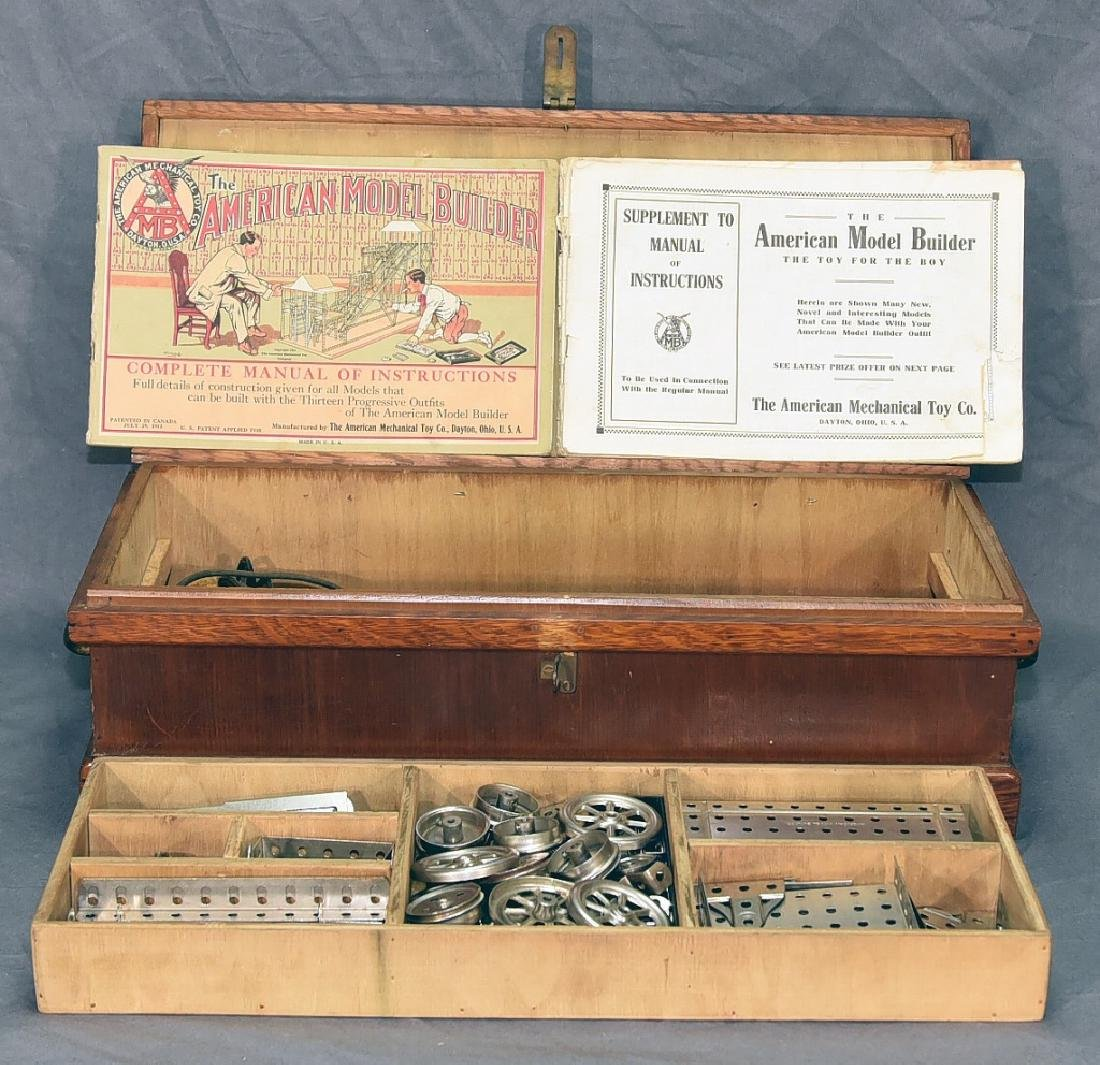 The American Model Builder Mechanical Toy Set
