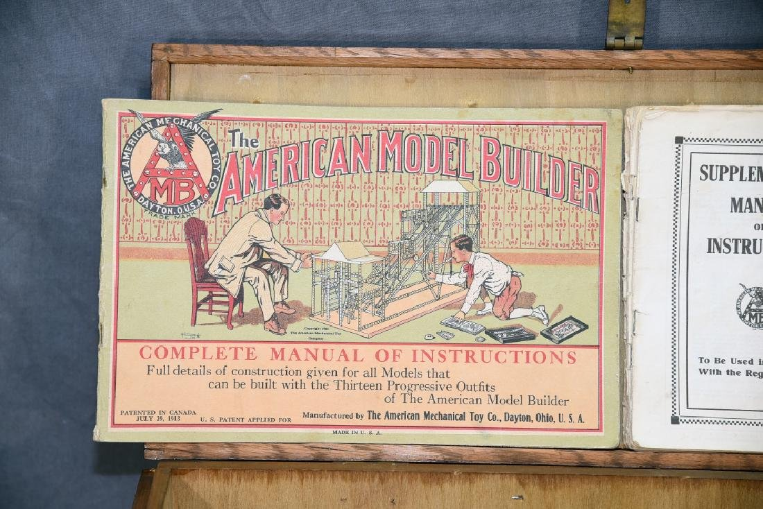The American Model Builder Mechanical Toy Set - 2