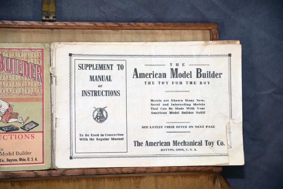 The American Model Builder Mechanical Toy Set - 3