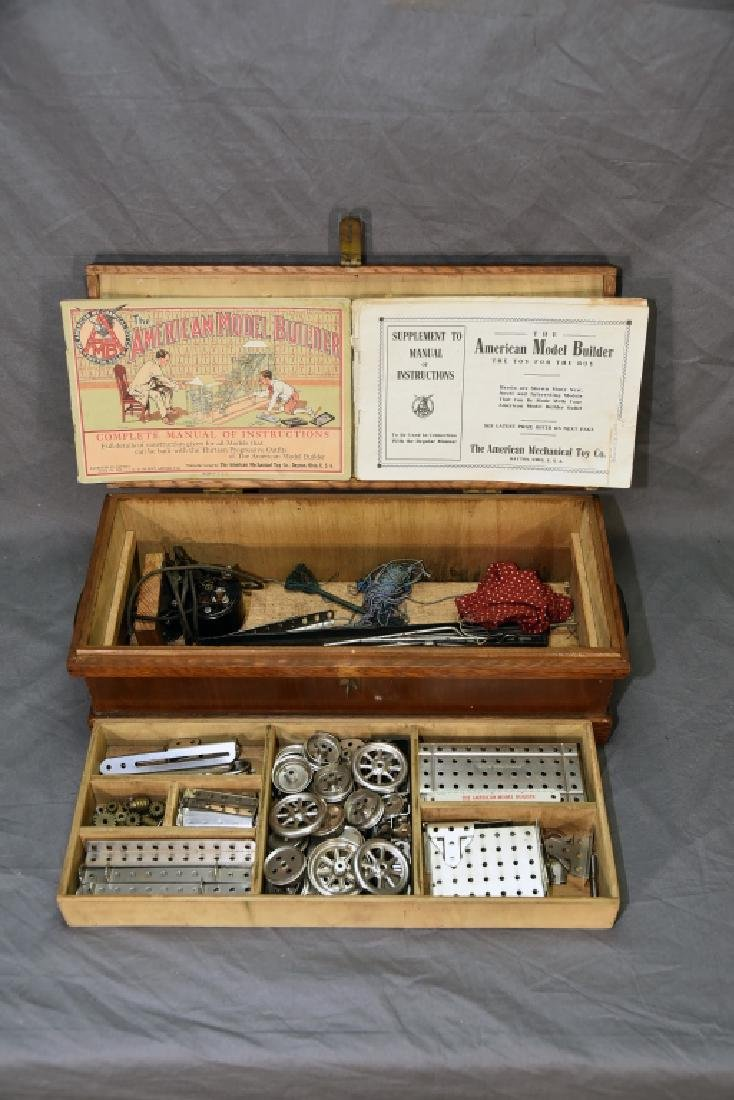 The American Model Builder Mechanical Toy Set - 4