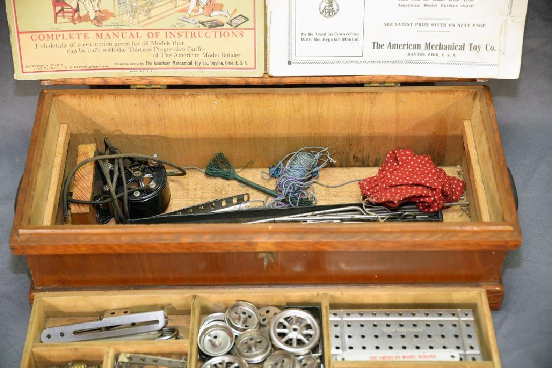 The American Model Builder Mechanical Toy Set - 6