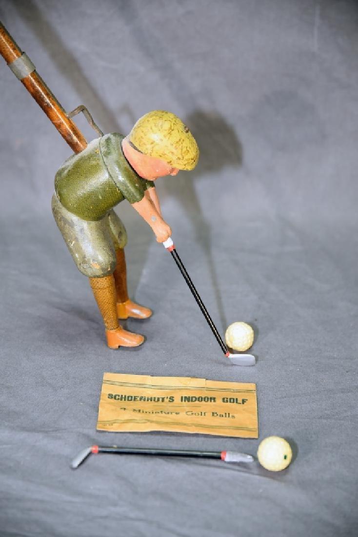 """Schoenhut's Indoor Golf  """"Tommy Green"""" - 4"""