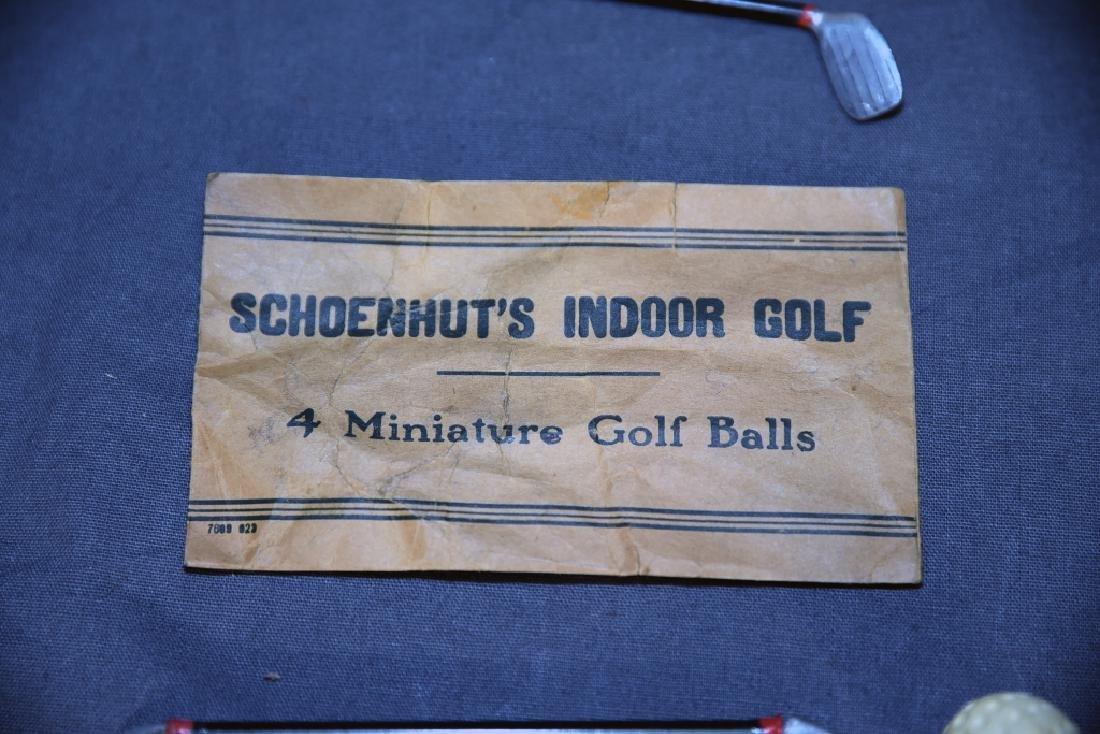 """Schoenhut's Indoor Golf  """"Tommy Green"""" - 9"""
