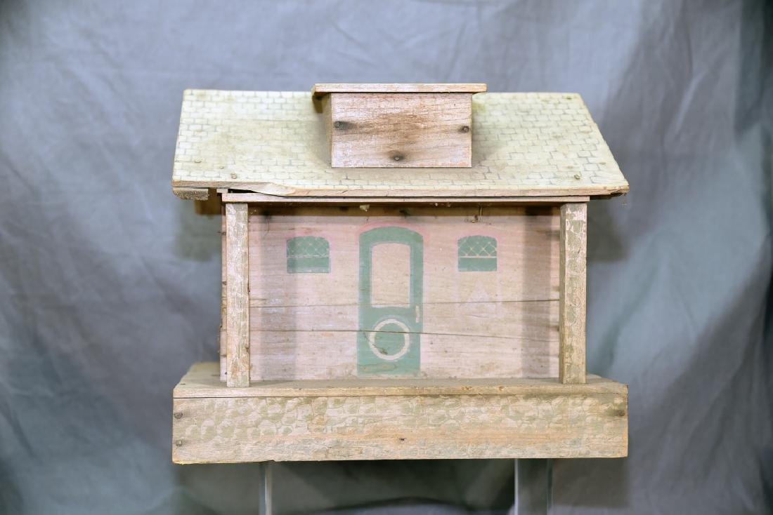 Wooden Farmhouse and Barn Set - 4