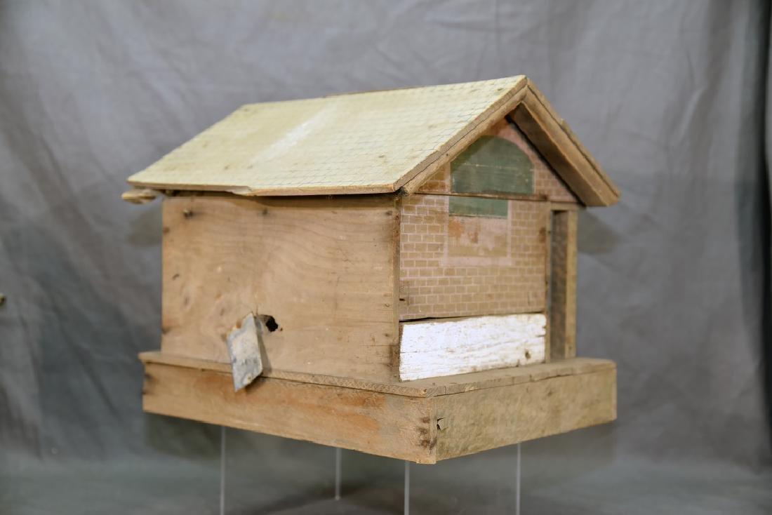 Wooden Farmhouse and Barn Set - 6