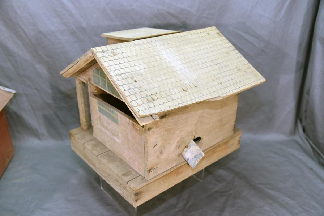 Wooden Farmhouse and Barn Set - 8