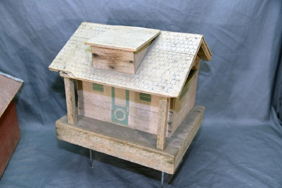 Wooden Farmhouse and Barn Set - 9