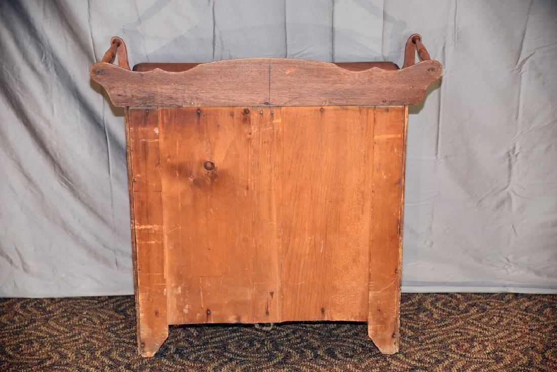 3 Drawer Walnut Washstand - 4