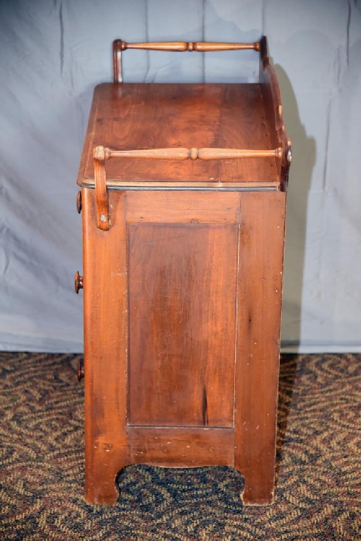3 Drawer Walnut Washstand - 5