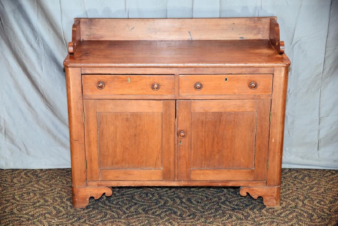 Cherry Washstand with 2 Drawers and 2 Doors