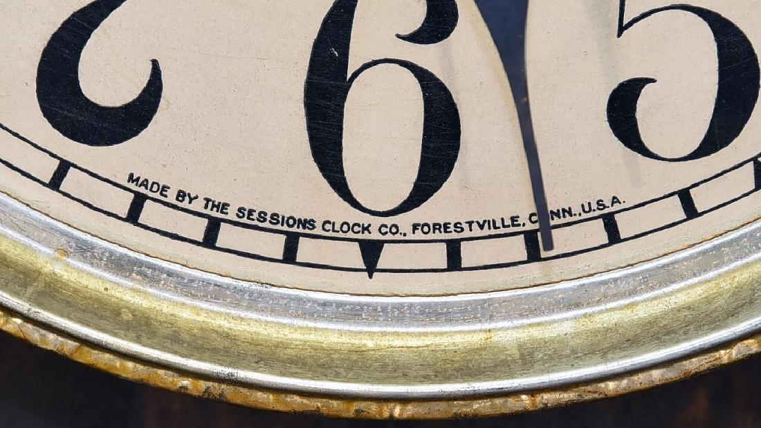 "Advertising Clock ""JJ Thomson Jeweler & Optician"" - 6"