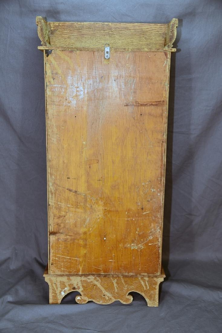 Ingraham Pressed Oak Regulator Clock - 6