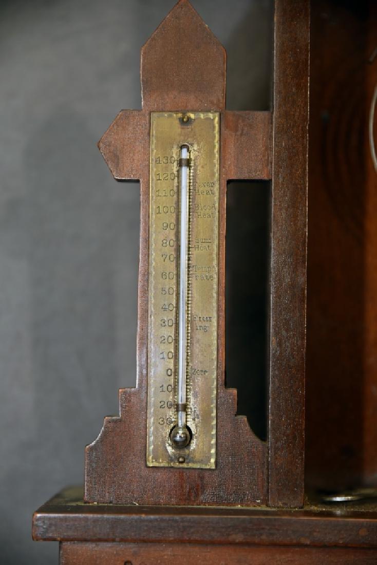 Waterbury Walnut Gingerbread Mantle Clock - 7