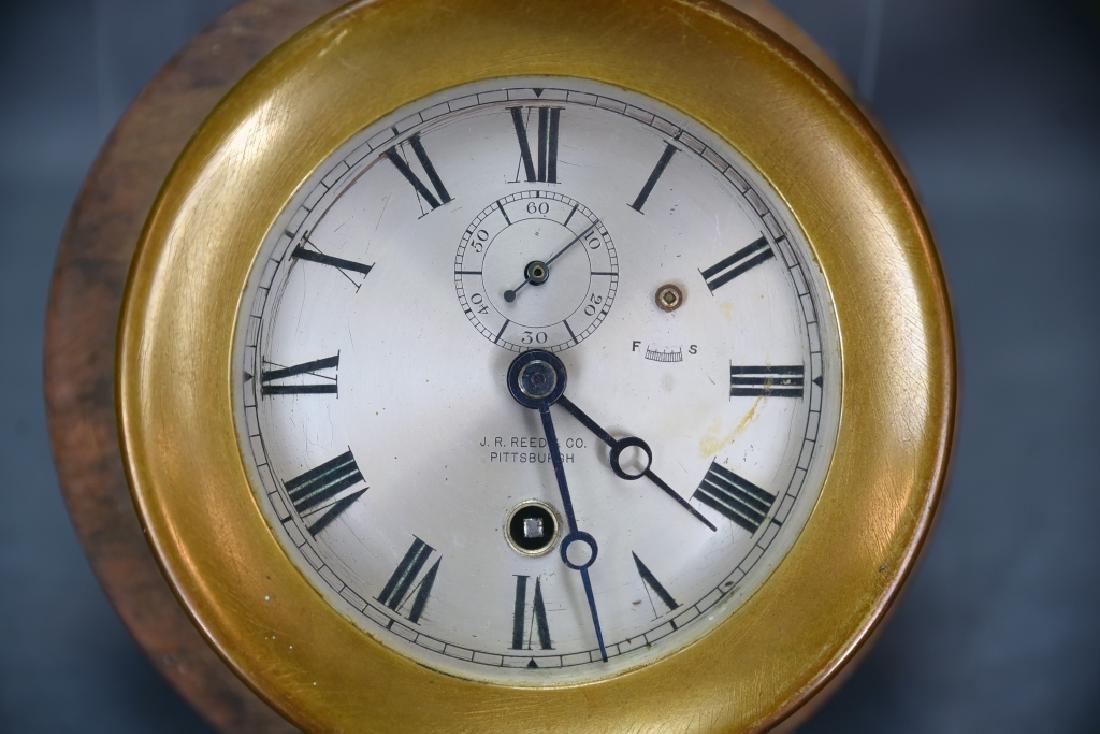 Brass Ships Clock J.R. Reed - 2