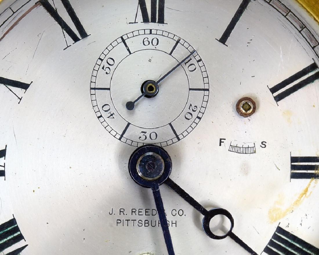 Brass Ships Clock J.R. Reed - 3