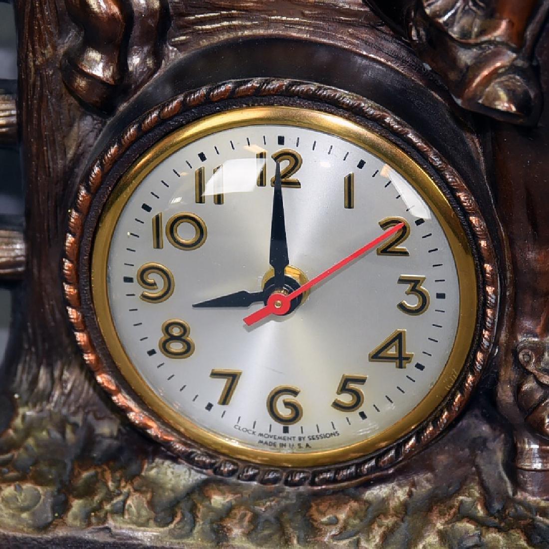 Sessions Bucking Bronco Western Clock - 2