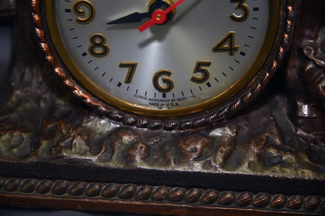 Sessions Bucking Bronco Western Clock - 4