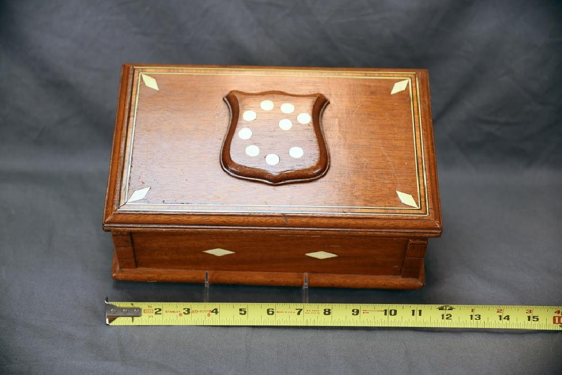 19th Century Bone Inlaid Dresser Box - 2