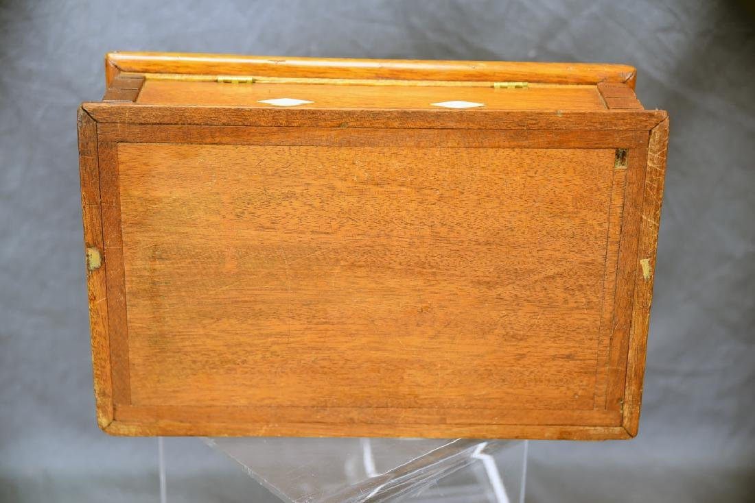 19th Century Bone Inlaid Dresser Box - 8