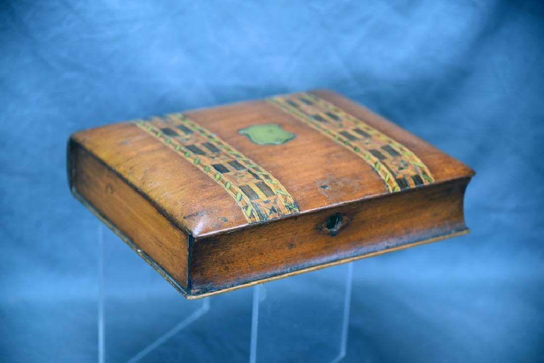Ornate Inlaid Dresser Box