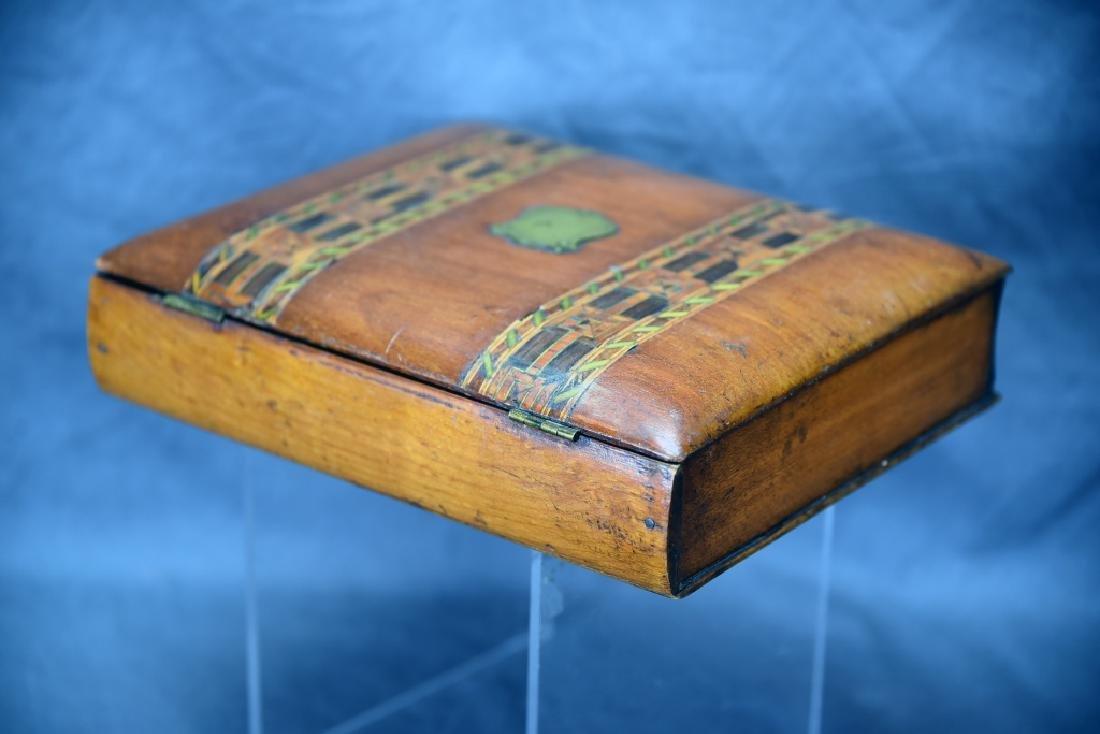 Ornate Inlaid Dresser Box - 3