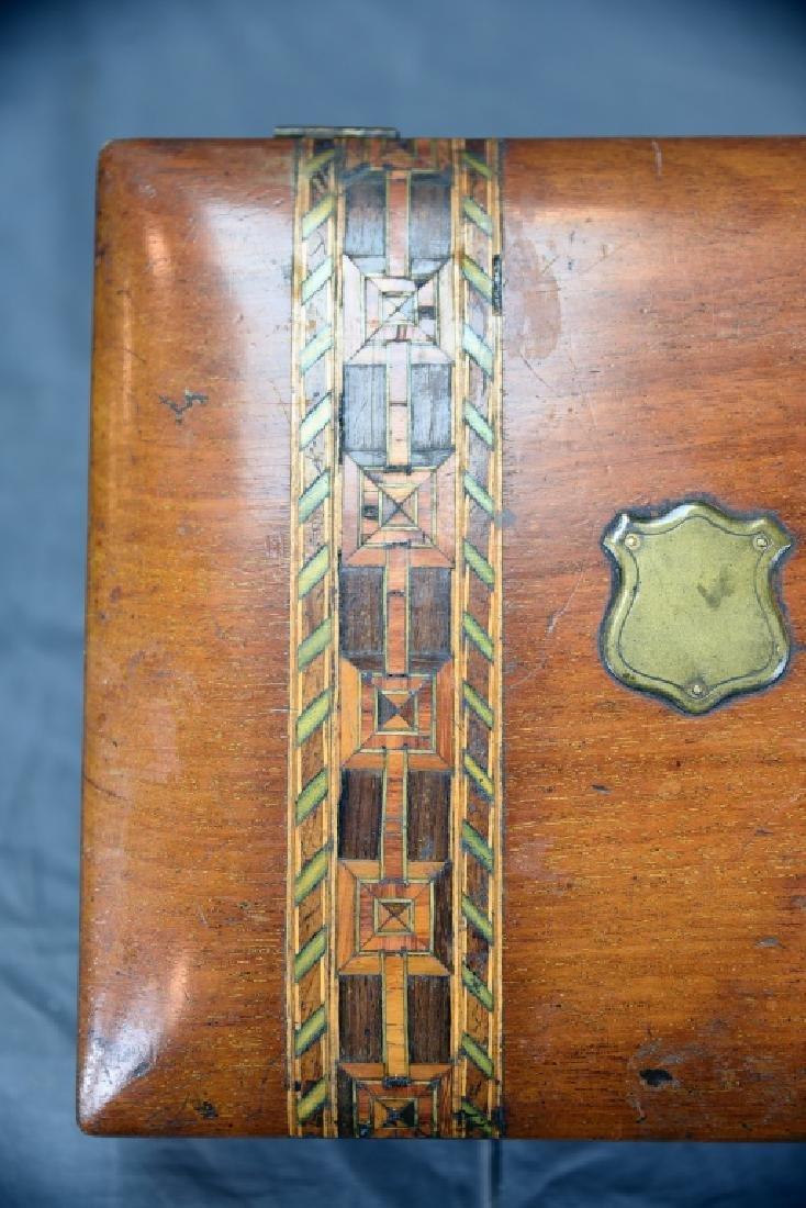 Ornate Inlaid Dresser Box - 5