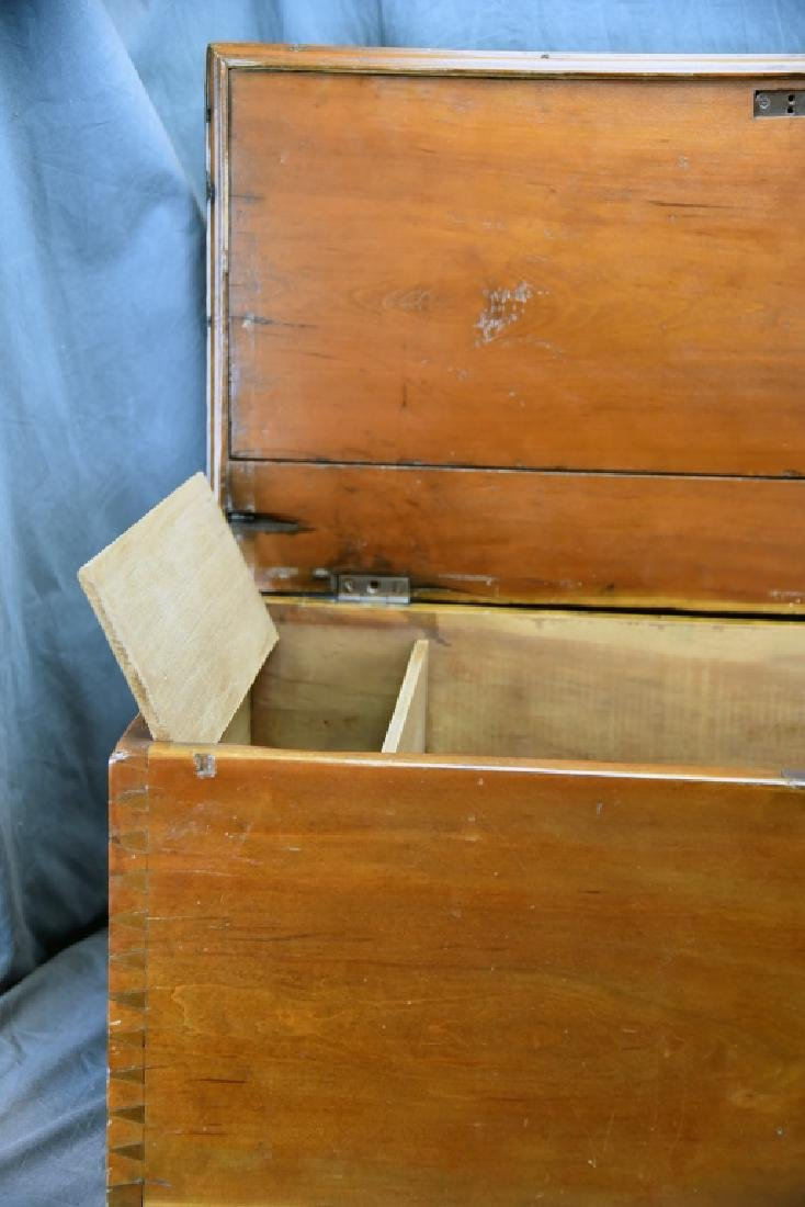 Hand Dovetailed Hope Chest - 8