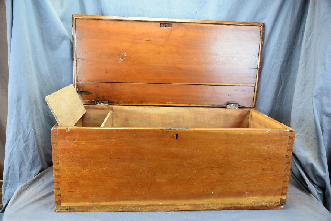 Hand Dovetailed Hope Chest - 9