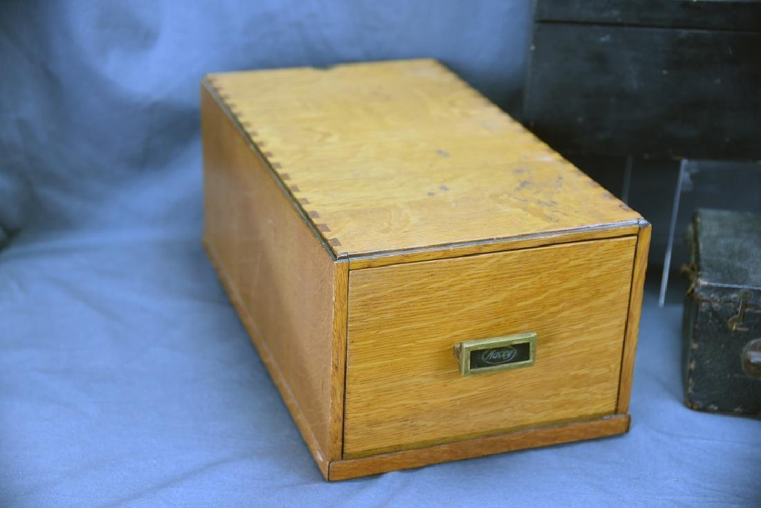 Lot of 3 Antique Boxes - 2