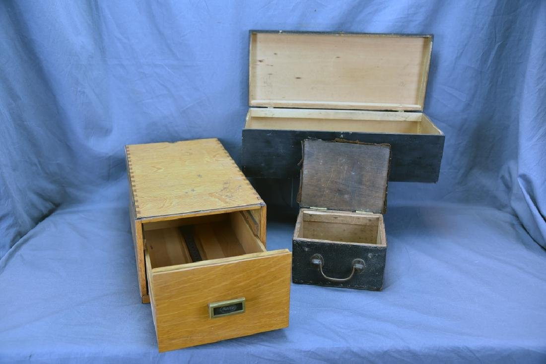 Lot of 3 Antique Boxes - 7