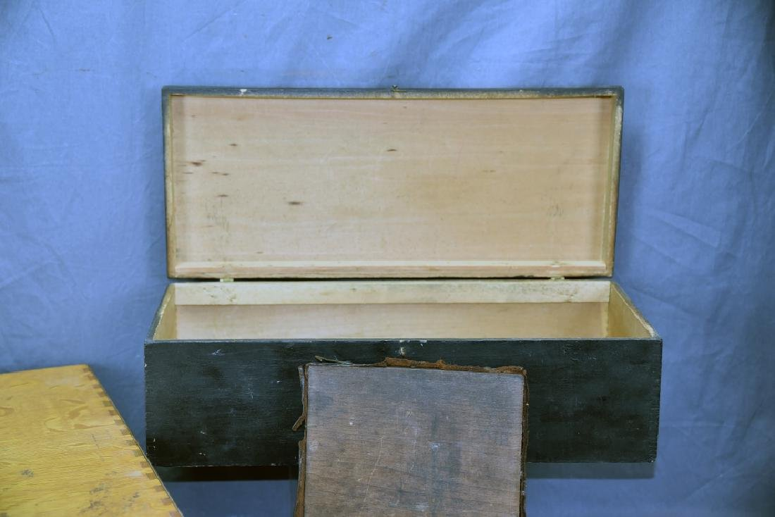 Lot of 3 Antique Boxes - 8